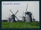 NETHERLANDS  -  Nieuw Lekkerland  Kinderdijk  Used Postcard As Scans - Nederland