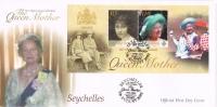 BR 1052 SEYCHELLEN  FDC YVERT BLOK 42  ZIE SCAN - Seychelles (1976-...)