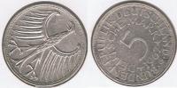 ALEMANIA 5 DEUTSCHE MARK G 1967 PLATA SILVER T - [ 7] 1949-… : RFA - Rep. Fed. Alemana