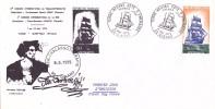 FRANCE @ FDC 1er Jour De 1972 - Terre Neuvas Dinard (35) Bateau Voilier Thallassothérapie Jacques Cartier Marin - FDC
