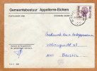 Enveloppe Brief Cover Gemeentebestuur Appelterre-Eichem - Cartas