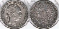 AUSTRIA FLORIN 1879 PLATA SILVER T - Austria