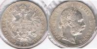AUSTRIA FLORIN 1884 PLATA SILVER T - Austria