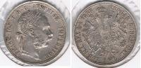 AUSTRIA FLORIN 1888 PLATA SILVER T - Austria