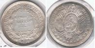 BOLIVIA  MEDIO BOLIVIANO 1891 PLATA SILVER  T - Bolivia