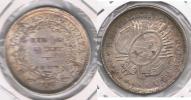 BOLIVIA  MEDIO BOLIVIANO 1897 PLATA SILVER  T - Bolivia