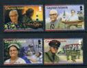 Cayman Islands 2011 Celebrity Baby Births Police Captain Stamps 4 New 0618 - Kaaiman Eilanden