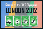Gambia 2012 Olympic Games Athletics Fog 1MS New 0725 Stamps - Gambia (1965-...)