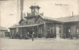 TREMONDE : La Gare - RARE VARIANTE - Cachet De La Poste 1914 - Dendermonde