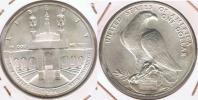 EE.UU. USA  DOLLAR OLIMPIADA LOS ANGELES 1984 PLATA SILVER T - EDICIONES FEDERALES