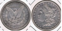 EE.UU. USA DOLLAR MORGAN 1879 OREGON PLATA SILVER T - EDICIONES FEDERALES