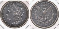 EE.UU. USA DOLLAR MORGAN 1880 OREGON PLATA SILVER T - 1878-1921: Morgan
