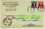 Carte-postale Manufacture Bonneterie Henri LANGLOIS - OOSTERZEELE -1926 - Oosterzele