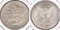 EE.UU. USA DOLLAR MORGAN 1884 OREGON PLATA SILVER T - 1878-1921: Morgan