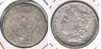 EE.UU. USA DOLLAR MORGAN 1884 OREGON PLATA SILVER T2 - Émissions Fédérales