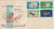 FDC NOUVELLES HEBRIDES 16.08.1965 - Definitives Stamps - FDC