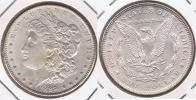 EE.UU. USA DOLLAR MORGAN 1889 PLATA SILVER T2 BONITA - 1878-1921: Morgan