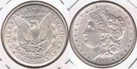 EE.UU. USA DOLLAR MORGAN 1889 PLATA SILVER T3 - 1878-1921: Morgan