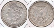 EE.UU. USA DOLLAR MORGAN 1889 PLATA SILVER T4 - 1878-1921: Morgan