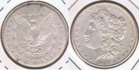 EE.UU. USA DOLLAR MORGAN 1889 PLATA SILVER T5 - 1878-1921: Morgan