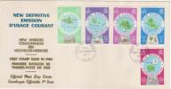 FDC NOUVELLES HEBRIDES 07.09.1977 - New Définitive émission D'usage Courant - FDC