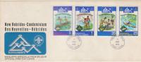FDC NOUVELLES HEBRIDES 05.08.1975 - NORDJAMB-75 - FDC