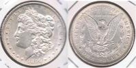 EE.UU. USA DOLLAR MORGAN 1896 PLATA SILVER T2 - 1878-1921: Morgan