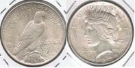EE.UU. USA DOLLAR PEACE 1923 PLATA SILVER T - Emissioni Federali