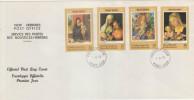 FDC NOUVELLES HEBRIDES 01.12.1978 - NOEL 1978 - FDC
