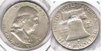 EE.UU. USA HALF DOLLAR D 1962 PLATA SILVER T - 1948-1963: Franklin
