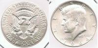 EE.UU. USA HALF DOLLAR KENNEDY 1964 PLATA SILVER T - EDICIONES FEDERALES