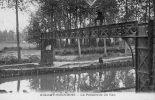 CPA - AULNAY-sous-BOIS (93) - Aspect De La Passerelle Du Gaz En 1910 - Aulnay Sous Bois