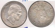 HOLANDA 2 Y MEDIO GULDEN 1874 PLATA SILVER T. BONITA - [ 3] 1815-… : Reino De Países Bajos