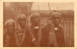 Afrique - Rouanda - Rwanda - Missions Des Pères Blancs - Ouroundi - Quatre Vieux Pasteurs Batutsi - Cliché Dufays - état - Rwanda