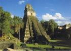 15239. Postal PETEM , TIKAL (Guatemala). Piramide - Guatemala