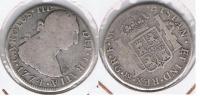 MEXICO CARLOS III 2 REALES 1774 PLATA SILVER T - México