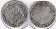 MEXICO CARLOS III 2 REALES 1781 PLATA SILVER T - México