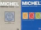 Rundschau MICHEL 10/2015 Sowie 10/2015-plus Neu 11€ Briefmarken New Stamp Of The World Catalogue And Magacine Of Germany - Pin's & Anstecknadeln
