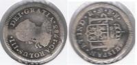 MEXICO CARLOS III MEDIO REAL 1783 PLATA SILVER T - México