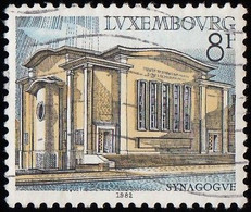 LUXEMBOURG - Scott #677 Synagogue Of Luxembourg (*) / Used Stamp - Luxembourg