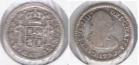 MEXICO CARLOS IIII MEDIO REAL 1797 PLATA SILVER T - México