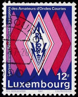 LUXENBOURG - Scott #767 Luxembourg Amateur Radio Operators Network, 50th Anniv. (*) / Used Stamp - Luxembourg