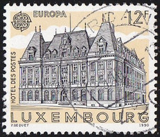 LUXENBOURG - Scott #833 Post Office Building (*) / Used Stamp - Luxembourg