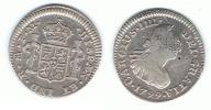 MEXICO CARLOS IIII MEDIO REAL 1799 PLATA SILVER T - México
