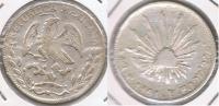 MEXICO GUANAJUATO 4 REALES 1861 PLATA SILVER T - México