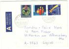 SVIZZERA - SUISSE - HELVETIA - 1997 - Pro Juventute 1993 + 1994 + 1996 - A Prioritaire - Viaggiata Da Brittnau Per Li... - Svizzera