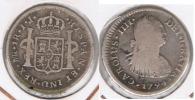 PERU LIMA CARLOS IIII  REAL 1794 PLATA SILVER T - Perú