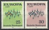 RFT 1972, Europa (**), Serie Completa - Europa-CEPT