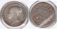 R.U. INGLATERRA VICTORIA 6 PENCE 1858 PLATA SILVER  T - 1816-1901: 19. Jh.