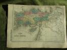 Carte-Map - L`Asie Mineure - Carte Géographique Anciene Atlas Delamarche 1873 - Carte Geographique